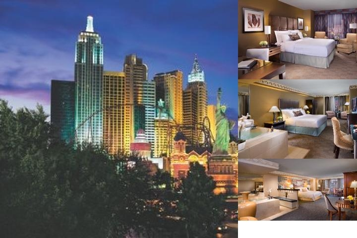 New York New York Hotel & Casino photo collage