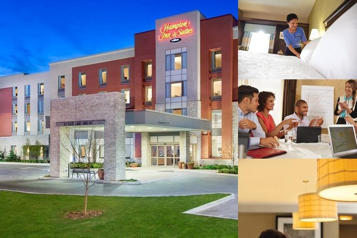 Hampton by Hilton Airdrie photo collage