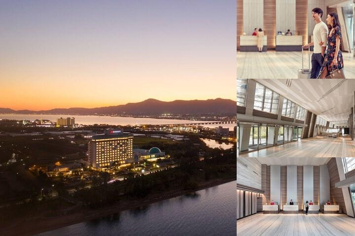 Lake Biwa Marriott Hotel photo collage