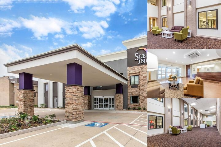 Sleep Inn Dallas Love Field Medical District photo collage