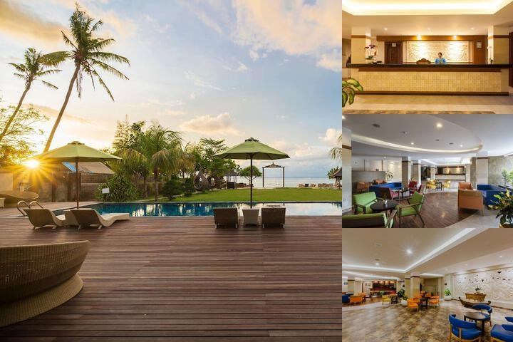 D'nusa Beach Club & Resort photo collage