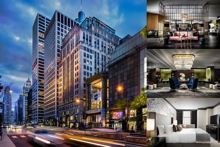 The Gwen A Luxury Collection Hotel Michigan Avenue Chicago Photo Collage