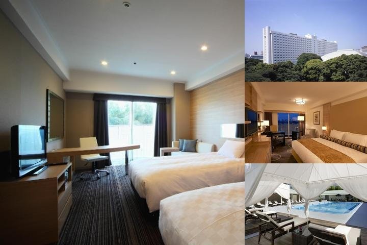 Grand Prince Hotel New Takanawa photo collage