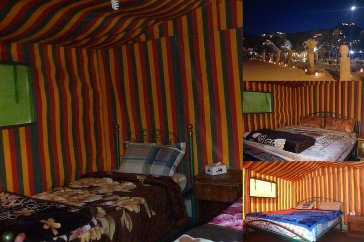 Little Petra Bedouin Camp photo collage