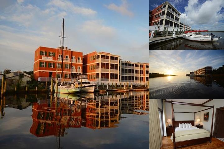 Water Street Hotel & Marina photo collage