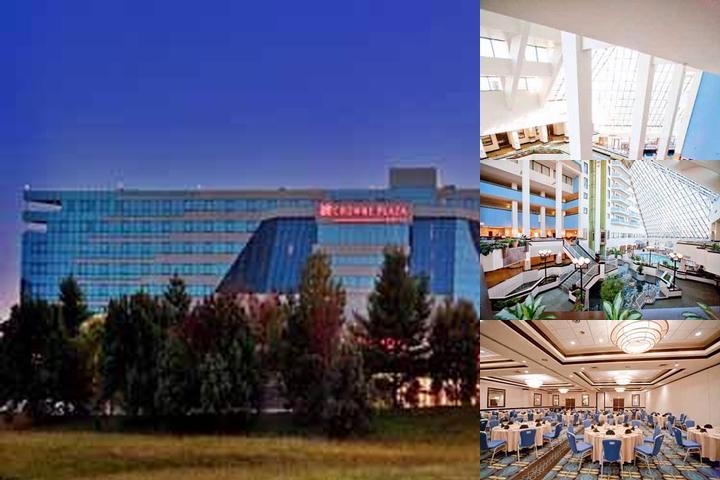 Crowne Plaza St. Louis Airport photo collage