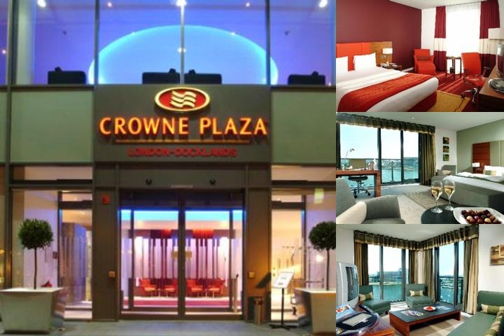 Crowne Plaza London Docklands photo collage