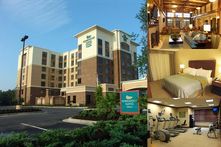 Homewood Suites by Hilton Mobile East Bay Daphne photo collage