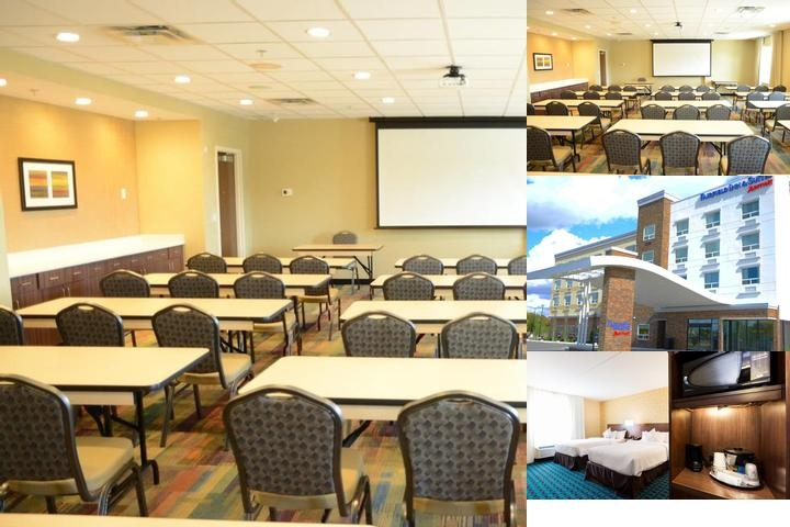 Fairfield Inn & Suites by Marriott Edmonton North photo collage