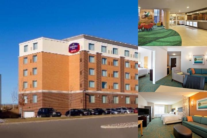 Springhill Suites Minneapolis St.paul Airport & Mall of America photo collage
