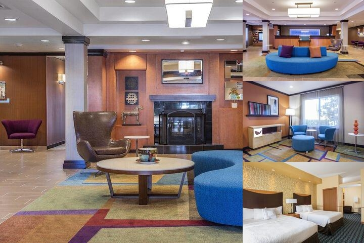 Fairfield Inn & Suites by Marriott Auburn Opelika photo collage