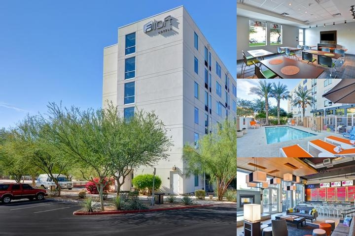 Aloft Phoenix Airport photo collage