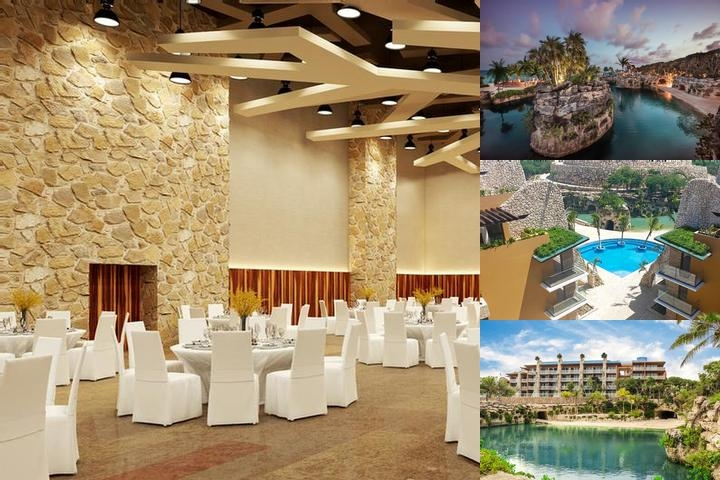 Hotel Xcaret Viento All Xcaret Parks Included photo collage