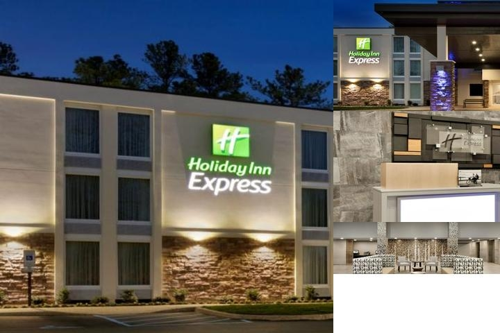 Holiday Inn Express Williamsburg Busch Gardens Area photo collage