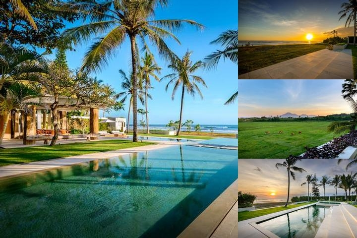 Beachfront Luxury Villa Vedas Bali photo collage