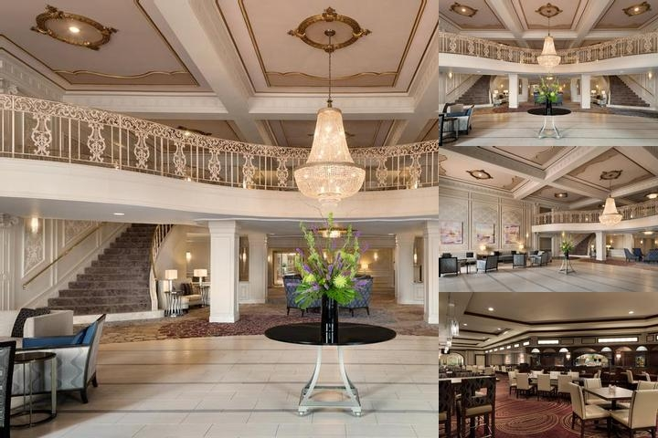 Hilton St. Louis Frontenac photo collage