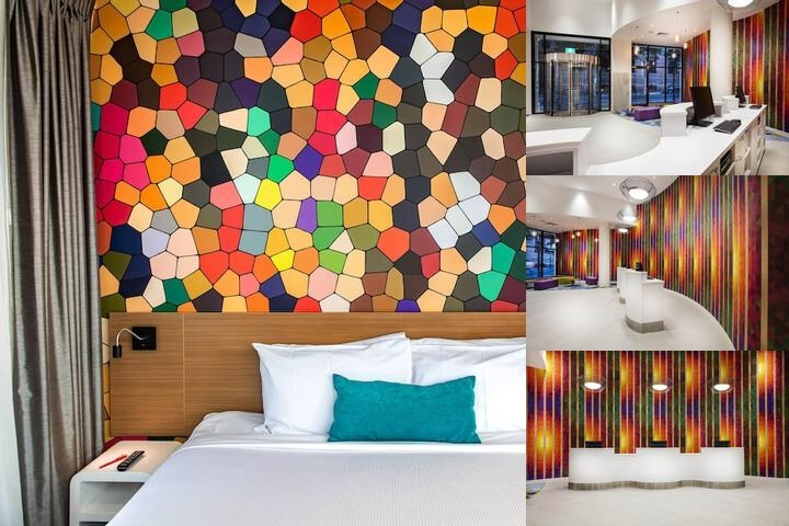 Ibis Styles Brisbane photo collage