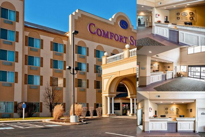 Comfort Suites University Area photo collage