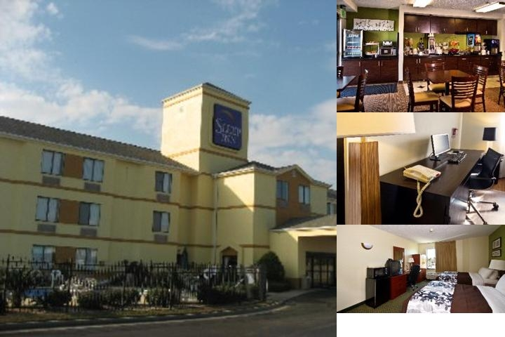 Sleep Inn South photo collage