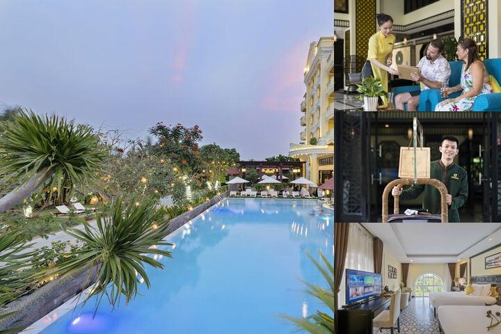 Le Pavillon Hoi An Luxury Resort & Spa photo collage