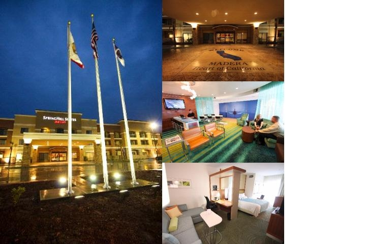 Springhill Suites Madera photo collage