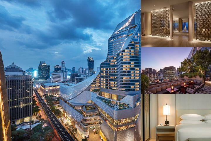 Park Hyatt Bangkok photo collage