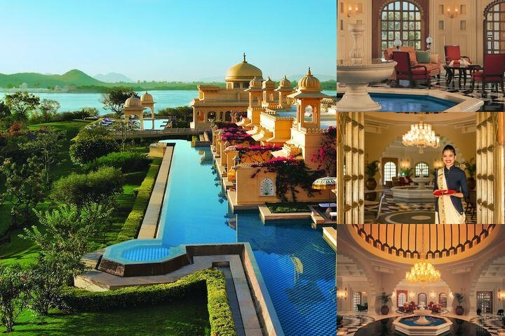 The Oberoi Udaivilas Udaipur photo collage