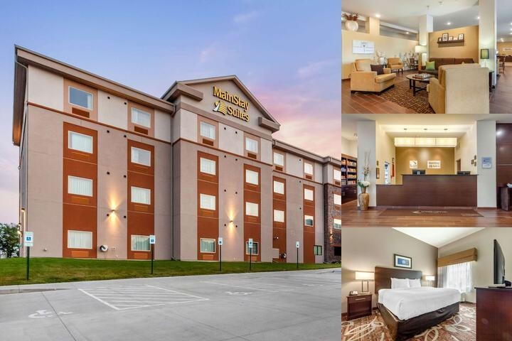 Mainstay Suites University photo collage