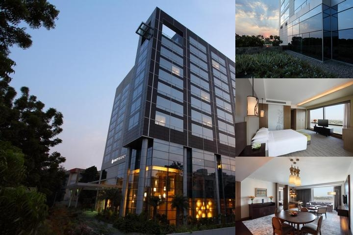 Hyatt Regency Ahmedabad photo collage