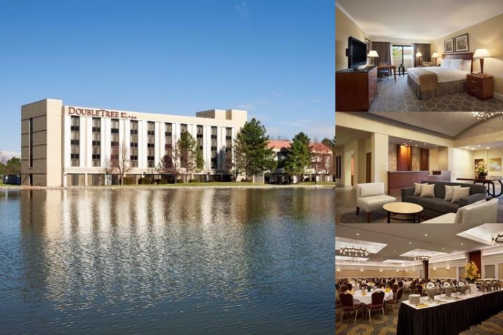 Doubletree by Hilton Hotel Salt Lake City Airport photo collage