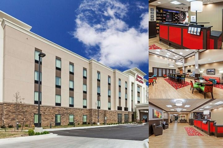 Hampton Inn & Suites Claremore photo collage