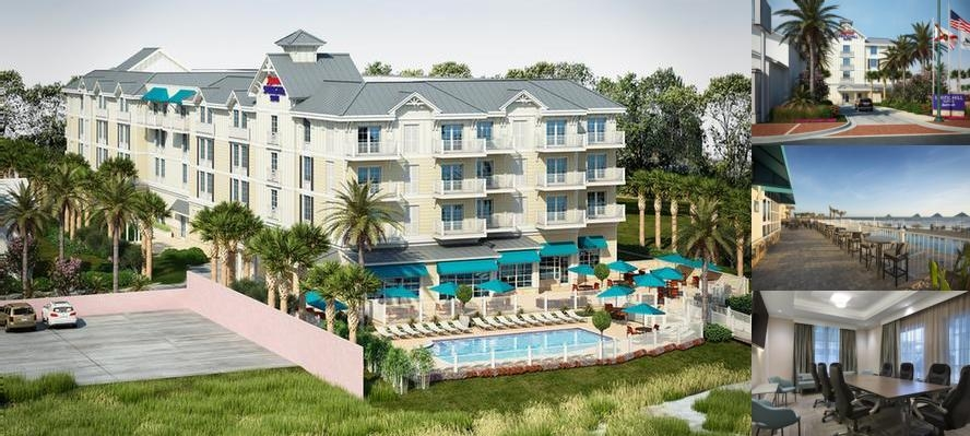 Springhill Suites New Smyrna Beach photo collage