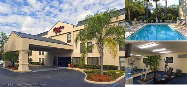 Hampton Inn Tampa / Brandon photo collage