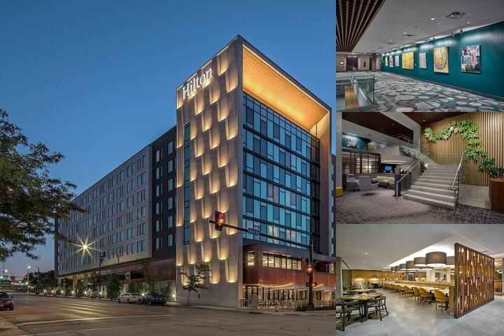 Hilton Des Moines Downtown photo collage