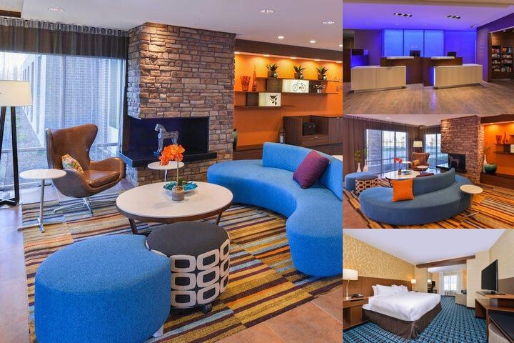 Fairfield Inn & Suites Coralville photo collage