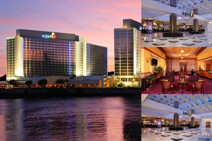 Aquarius Casino Resort Best Western Premier Collection photo collage