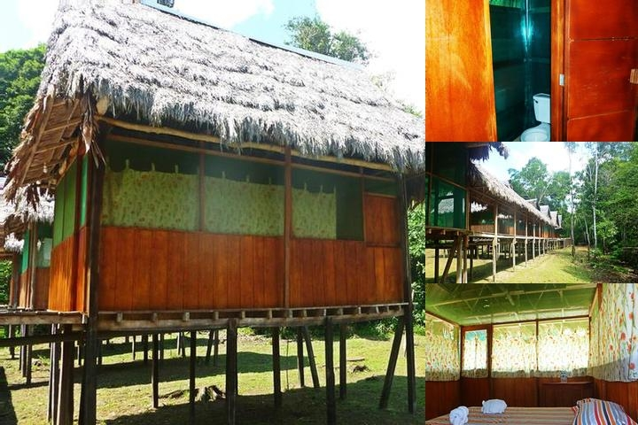 Amazon Yanayacu Lodge photo collage