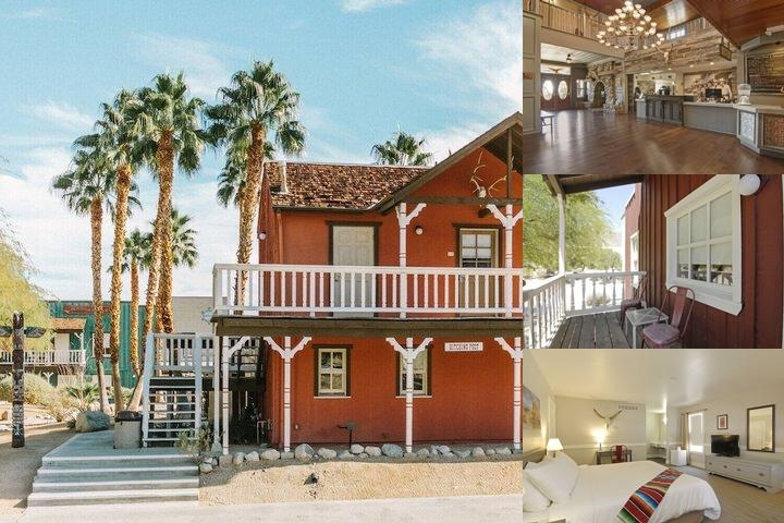 Palm Canyon Hotel & Rv Resort photo collage