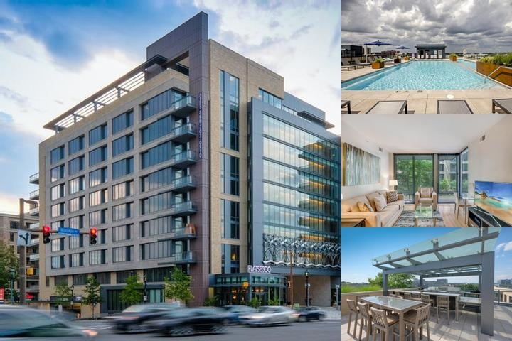 Global Luxury Suites In Downtown Bethesda Photo Collage