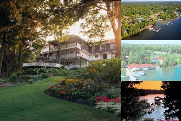 Clevelands House Resort Muskoka photo collage