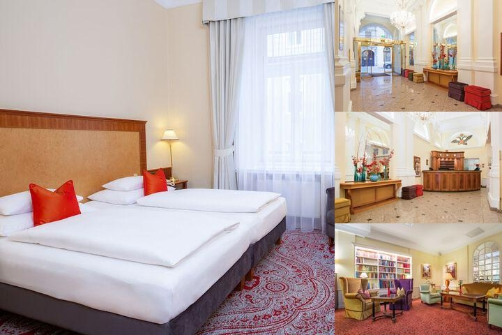 Hotel Kaiserhof Wien photo collage