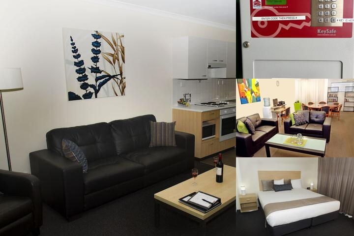 Perth Ascot Central Apartment Hotel photo collage