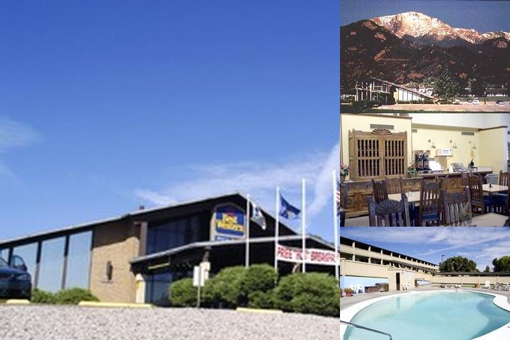 Pikes Peak Inn photo collage