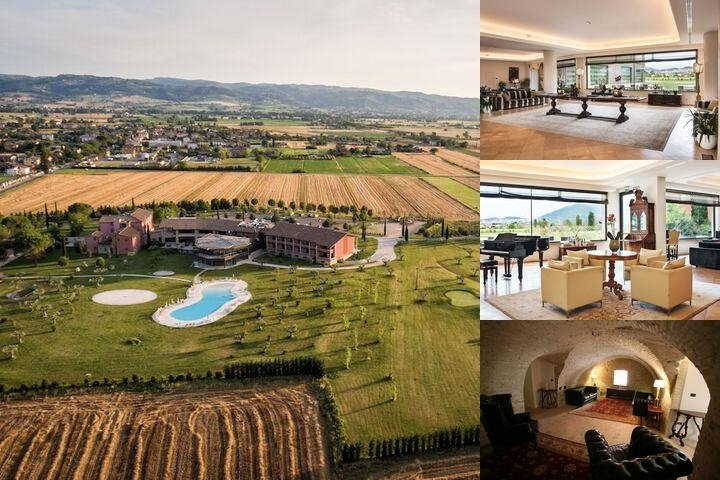 Valle Di Assisi Resort Spa Golf photo collage