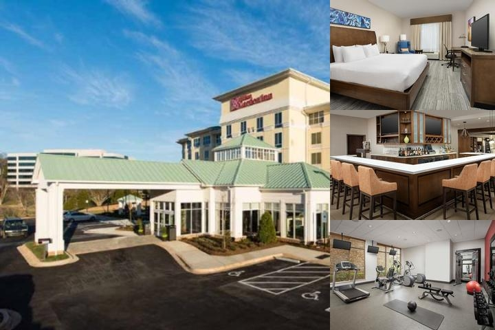Hilton Garden Inn Charlotte Airport photo collage