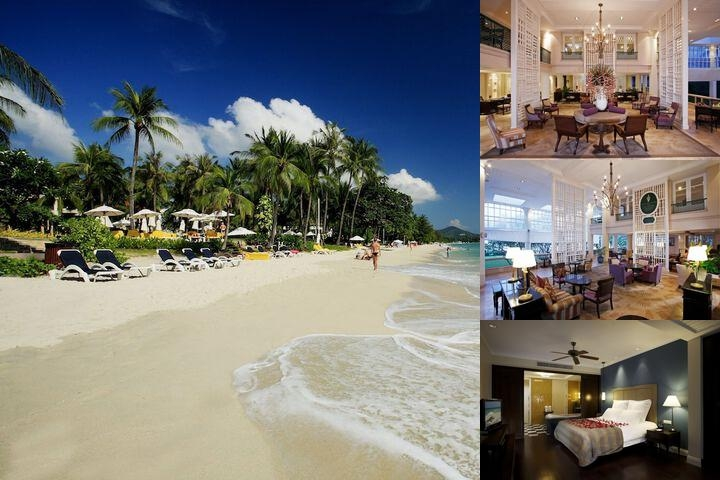 Centara Grand Beach Resort Samui photo collage