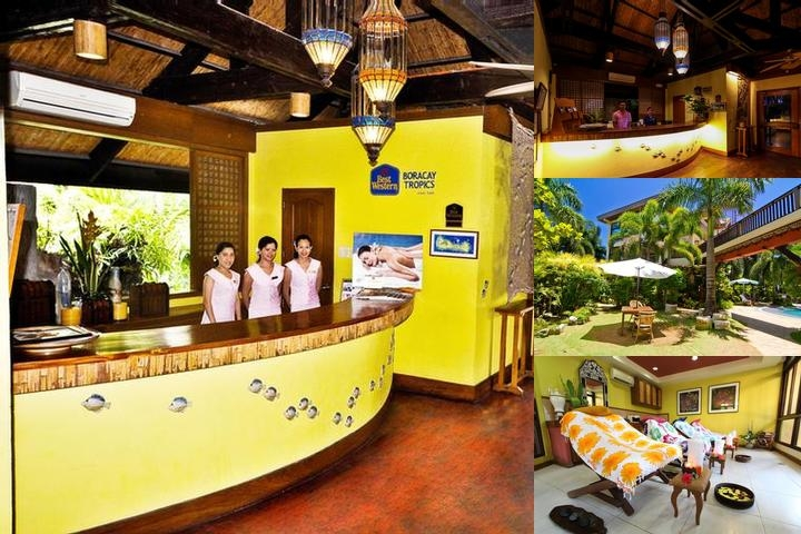 Best Western Boracay Tropics photo collage