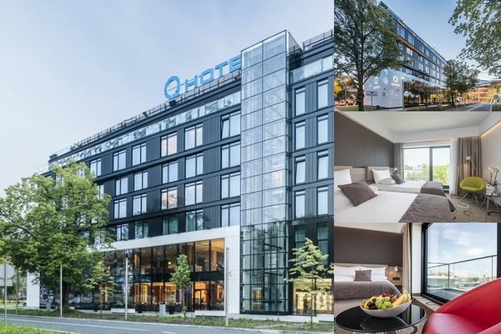 Q Hotel Plus Krakow photo collage