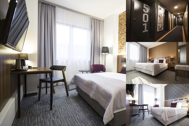 Best Western Hotel Mariacki photo collage