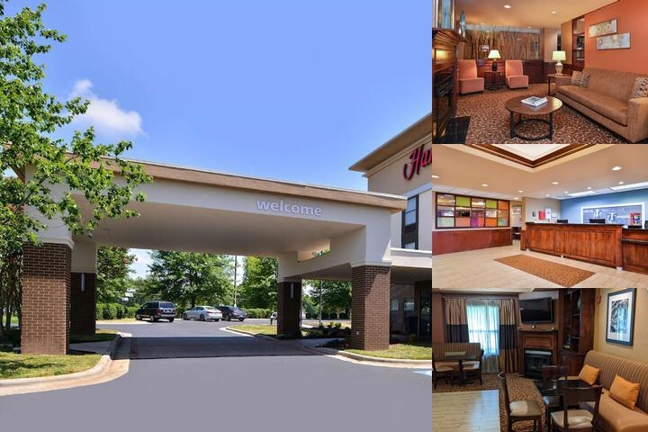 Hampton Inn Greensboro East photo collage